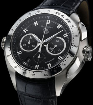 Mercedes benz tag heuer watch 7124 408inc blog for Tag heuer mercedes benz slr